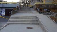 Obnovljeno stepenište na Labudovom brdu