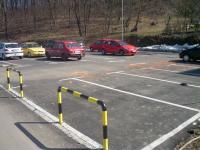 Parking iza opstine